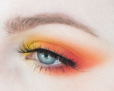 How to Create a Red, Orange, Yellow Analogous Makeup with Color Theory #becolorsmart — rebeccakshores.com