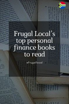 Frugal Local's top books to read Top Books To Read, Finance Books, Love Reading, Personal Finance, Frugal, Audio Books, Finance