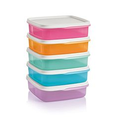 Lunch it Containers On Sale Now $25 comes with 5 containers with seals. Visit my website if interested in ordering www.my.tupperware.com/cynnabun