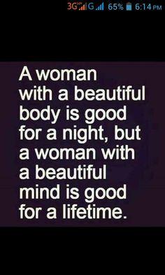 True women lies in heart