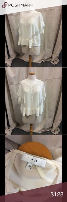 IRO Shirt Lace Detail IRO Shirt IRO Tops Blouses