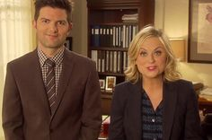 29 Reasons Leslie Knope And Ben Wyatt Are The Most Perfect Fictional Couple Around Leslie And Ben, Parks And Recs, Ben Wyatt, Parks Department, Leslie Knope, The White Stripes, Amy Poehler, Brooklyn Nine Nine