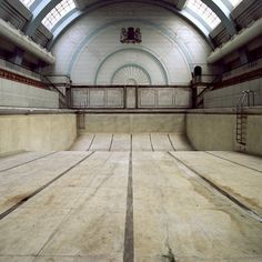 Old Pool. What could you do with this? Roller skating rink?