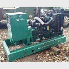 100 kW Cummins Diesel Generator.  Model: DSFAE-7704839 Serial no: H110240924. Prime: 72 kW. Standby: 80 kW. 480 Volt, 3 phase. 4 cylinder Cummins Diesel Engine.  Hours: 655. Serial no...