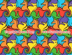 simple tessellation patterns for kids - Google Search