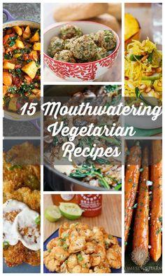 15 Mouthwatering Veg