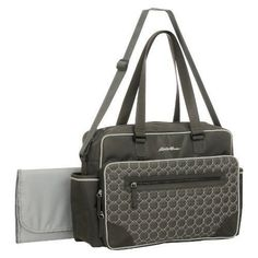 Eddie Bauer® Bremmerton Duffle Diaper Bag - Gray This bag is great because  my husband can carry it and is very gender neutral. aec2cd37f8