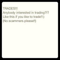 Trades!!! Read Description :) Fellow poshers I'm looking to do some trading!!! I listed my fav brands that I'll trade for below. Sz large in clothing!!!! Michael Kors Coach North Face Under Armour Bath and Body Works VS Hollister/A&F Shoes/boots sz 6 Children clothing sz 6 and shoes sz 12-13 Anything LPS or Shopkins for my daughter. Accessories