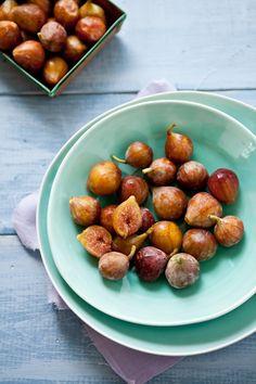 Tartelette: Summer Fare: White Nectarines Pineapple Sage Galette, Chanterelles Tartines & Quinoa and Fig Tabouleh