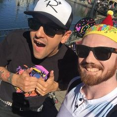 What a birthday! Got to meet Justin while he was filming a new video in #Disneyland! @livefastdiepoor by joeymt88