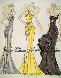 Hayden Williams Spring/Summer 2010 Haute Couture Collection by Fashion_Luva, via Flickr