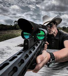 Hay un rifle tan futurista e inteligente que no falla
