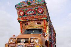 "Pakistani ""jingle trucks"