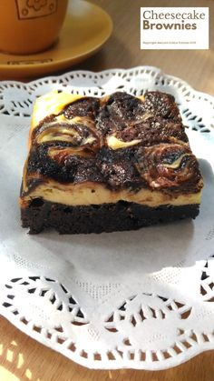 Cheesecake Brownies 6