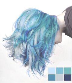 Blue hair inspiration