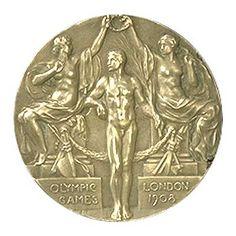 Juegos Olímpicos de Londres 1908,Inglaterra-Medalla Olímpica.