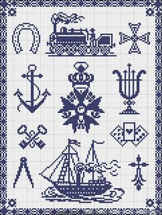 Free Easy Cross, Pattern Maker, PCStitch Charts + Free Historic Old Pattern Books: Sajou No 290 Cross Stitch Letters, Mini Cross Stitch, Cross Stitch Samplers, Cross Stitch Charts, Cross Stitch Designs, Cross Stitching, Cross Stitch Embroidery, Embroidery Patterns, Stitch Patterns