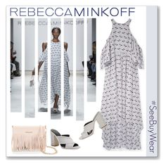 """""""#SeeBuyWear collection from Rebecca Minkoff Contest Entry"""" by kellylynne68 ❤ liked on Polyvore featuring Rebecca Minkoff, women's clothing, women, female, woman, misses, juniors, contestentry, seebuywear and rmspring"""