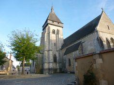 l'église de Saint-Marcel (36)