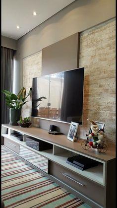 Living Room Color Schemes, Living Room Colors, Home Living Room, Living Room Decor, Bedroom Tv Unit Design, Living Room Tv Unit Designs, Home Interior Design, Interior Modern, Tv Wanddekor