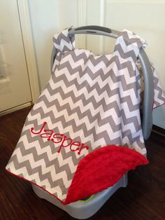 Personalized baby cat canopy, 2 names, monogrammed custom car ...