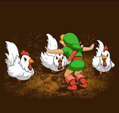 Jurassic Cuccos | #JurassicPark #JurassicWorld #Zelda