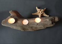 Drift Wood Tea Light Holder