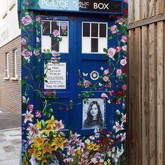 Rigsy's tribute to Clara…  #DoctorWho #DrWho #whovian #fandom #BTS #BehindTheScenes #vworp #TARDIS