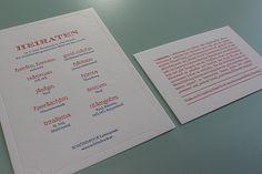 "Das Wort ""heiraten"" dialektlexikographisch betrachtet. Letterpress, Bullet Journal, Business Cards, Interesting Facts, Getting Married, Letterpress Printing, Letterpresses"