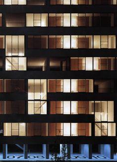 subtilitas:  Kazuyo Sejima -Gifu Kitagata apartment building, Gifu 2000. A complex modularsystem based on a variety of environmental, cont...