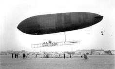 [1911] Le Temps Airship / Dirigeable Le Temps
