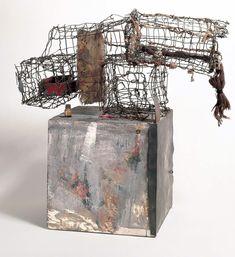 Robert Rauschenberg Three Traps for Medea, 1959 Robert Rauschenberg Foundation Robert Rauschenberg, Abstract Sculpture, Sculpture Art, Abstract Art, Metal Sculptures, Contemporary Sculpture, Contemporary Art, Land Art, James Rosenquist