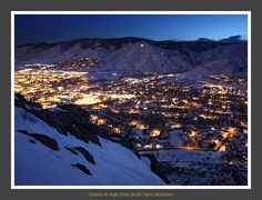 Golden at night by Andrew Terrill