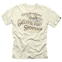 Calypso Poet Tee - Canvas Jimmy Buffett Margaritaville 3ac3eea49666