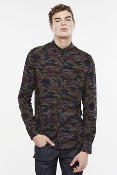 chemise camouflage MACY M - ELEVEN PARIS
