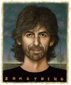 George Harrison Art, by Braldt Bralds