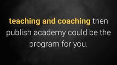 This short video describes how to turn your passion or hobby into a digital business. Full publish academy review and bonus can be found at my website.