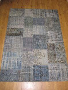 לאלו המחפשים את המראה הרגוע מבלי לאבד מהייחודיות - שטיח טלאים בגווני אפור