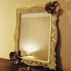 Decorative handmade mirror