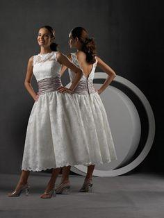 tea+length+wedding+dresses+for+older+brides | ... Dress Centre: Tea Length Wedding Gown - A Popular Choice Among Brides