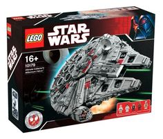 This Lego Star Wars Millennium Falcon 10179 set is the set my son wanted but never received.