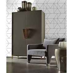 Find Kelly Hoppen Geo Black & White Wallpaper at Homebase. Visit your local store for the widest range of paint & decorating products.
