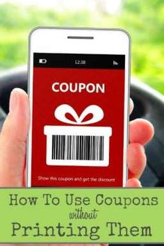 You may not realize it, but there are coupons you can use right from your phone! No printing and clipping, and you can still save on your shopping and even dining out! Find out HOW to do this by clicking on over! Great ideas for saving money. Couponing For Beginners, Couponing 101, Extreme Couponing, Start Couponing, Ways To Save Money, Money Tips, Money Saving Tips, Money Savers, Best Coupon Apps