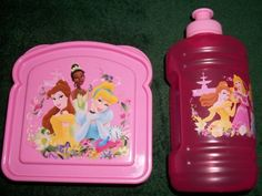 $8.99 Disney Princess Pink Plastic Sandwich Holder and Matching Water Jug with Handle  From zak   Get it here: http://astore.amazon.com/ffiilliipp-20/detail/B005BYZOY2/180-0871623-0870941