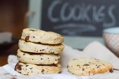 Cookies vegan chocolat-banane