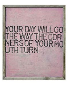 """SugarBoo Designs """"Your Day Will Go"""" Framed Print by Rebecca Puig                                    $300.00  $179.90"""
