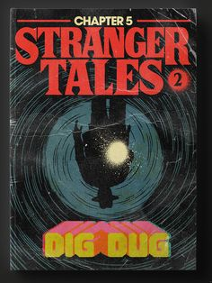 """If """"Stranger Things"""" episodes were a book series, we'd want to binge read all of them immediately. An illustrator named Butcher Billy has taken each episod"""