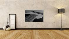 Guitar Body, Guitar Players, Music Lovers, Printable Wall Art, Wall Art Decor, Living Room, Black And White, Space, Bedroom