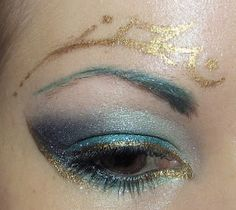 Hunger Games Venia inspired eyeshadow