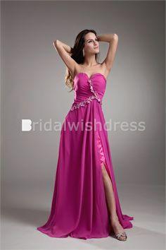 Fantastic Summer Pageant Dresses A-Line Court Train Prom Dresses 2013